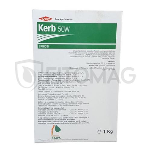 Erbicid Kerb 50 W, 1 kg